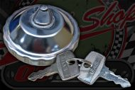 Fuel cap locking stainless steel C50 C70 C90 CUB