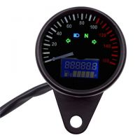 Speedo. 60mm analogue  with digital trip/fuel 160KM/H Universal