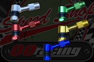 Tyre valve CNC bolt in 45 degree colours