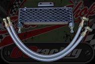 Oil cooler wide low black Z190/212 kit