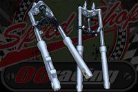 Fork kit.  CRF 50 style 27mm legs 525mm long hydraulic basic range