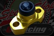 Kill or start switch CNC Gold bracket brake master cylinder clamp type