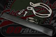 Exhaust strap stainless Tri oval shape