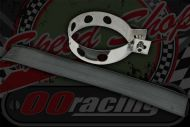 Exhaust strap stainless round 80mm