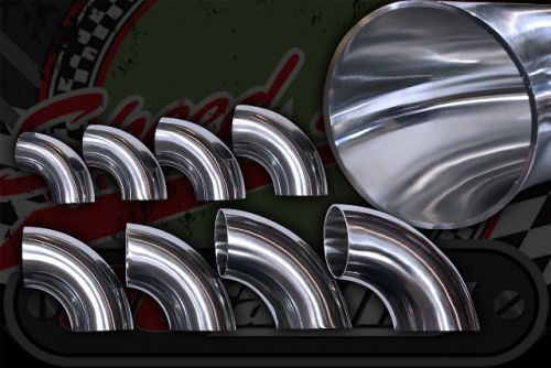 Stainless 304 exhaust/inlet pipe bends 90 degree Sizes OD from 19mm to 76mm