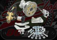 Brake disc kit. Rear. Conversion. Suitable for Monkey bike running 8
