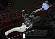 Brake. Master cylinder. Front. Remote reservoir KRD short adjustable lever