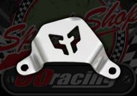 Cover. Caliper. Alloy. 75mm bolt centers. M6. Universal
