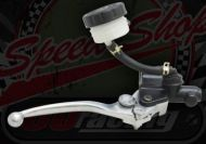 Brake. Master cylinder. Front. Long lever with remot res.