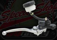 Brake. Master cylinder. Front. Long lever with remot res.