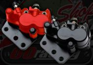Brake. Caliper. Front. Suitable for use with Madass twin pot 125cc & late 50cc