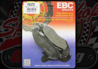Brake pads Front EBC High peformance Organic suitable for MSX GROM 125