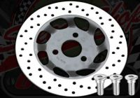 Disc. Front. 220mm 15mm or 22mm off set. Suitable for Monkey or Dax.