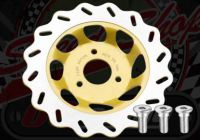 Disc. 220mm Front. Wavy. 22mm off set. Suitable for Monkey or Dax.