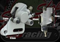Rear brake kit single pot large 31mm piston
