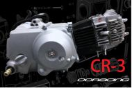 90cc. CR-3  3 speed Close ratio gear set Semi Auto race engine