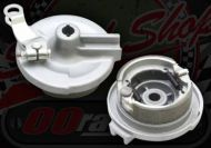 Brake plate CRF 50 style 80mm drum 12mm axle