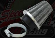 Air filter. 38mm or 42mm. Wire cone type