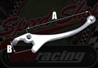 Lever. Brake. Front. Alloy. Chrome plated