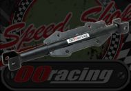 Footrest. Hanger. Chromolly. X11. Straight with RACE QUICK RELEASE LUG. 330mm wide