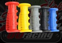Grips. Pair. Palm saver. Firm. Great feel. BMX old school feel
