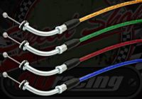 Cable. Throttle. Standard twist in switch gear. Suitable for use with Monkey or Dax bikes