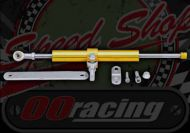 Steering damper Gold universal fit for most small bikes, adjustable damping