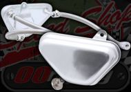 Breather tank. Catch tank side panel kit. 3 way system. Oil return. Alloy. Side panel type. R/H Fixing Kit