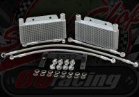 Cooler kit. Oil. Twin radiator for YX & Zongshen 150 160 170 engines