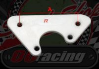 Bracket. Oil cooler. Inlet manifold fitment. Stainless steel