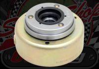Flywheel. Electric start with starter clutch