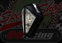 Rear light stop tail and number plate light white 12v LED