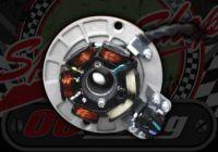 Gen. Stator plate. Super spin. 12V. SPLIT PHASE. FOR 88MM O/D FLYWHEEL