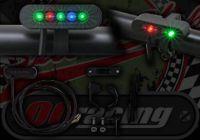 Warning light kit bar mounted from Daytona