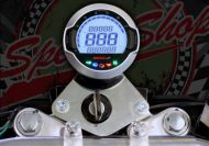 Clock. Koso. Speedo. Revometer. Suitable for use with ACE 50/125. Plug and play