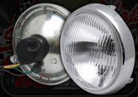 Head lamp lens and rim 5.5
