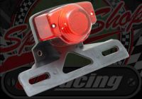 Rear light. stop tail Retro. Honda compatible with number plate holder