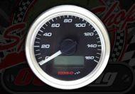 Clock. Koso. Speedo. 160Km/h or 160Mph. Mini clock. 48mm Diameter