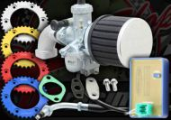 Madass 125 tuning kit when converting engine over 125cc