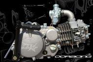 150cc. Engine 2 Valve. 15BHP. OORacing. Phase 5 LONG STROKE NOW IN BLACK