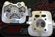 Cylinder head ACE 125cc, 150cc, 200cc OVER SIZE valves IN 31.5mm EX 26mm