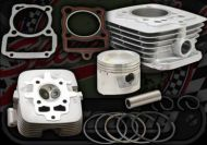 Big bore kit. Suitable for ACE 125cc up to 150cc NEW UP RATED HEAD with Big valve head