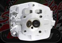 Cylinder head ACE 125/150 CG with TWIN Exhaust port idea for a custom build.