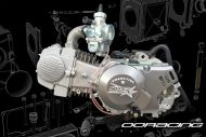 140cc. Engine Phase 5 RACE 19BHP version running RED Tag head, High comp piston, VMR118 ignition