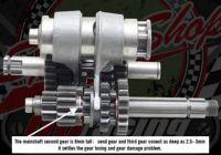 Gear box kit. YX150/160. 2V & 4V. Full kit. Bearing or needle roller type