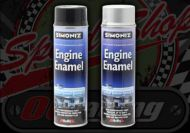 Paint. Engine Enamel. Simoniz Gloss. Aerosol. Silver or Black