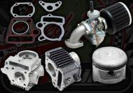 Big bore kit. Convert 49cc to 72cc. Includes carb kit