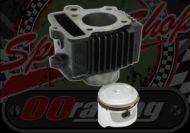 Cylinder kit. 72cc. 47mm bore. 12v style