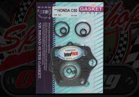 Gasket Kit. C50. Top set. Points.  6 Volt