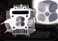 Head. 4 valve. YX 160/170cc. Complete head ready to bolt on